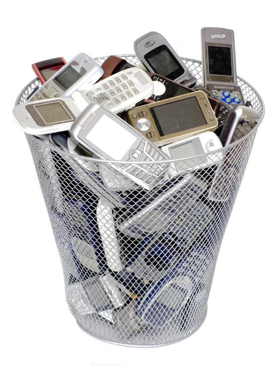 Recogida móviles. Mugikor bilketa