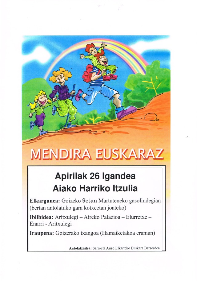 APIRILAK 26 IGANDEA