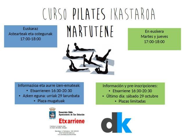 pilates-euskara